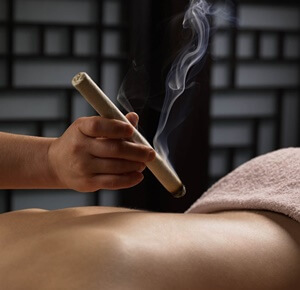 moxibustion y beneficios