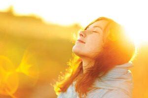el sol como terapia