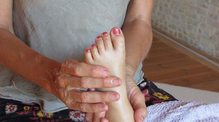 masaje con niños