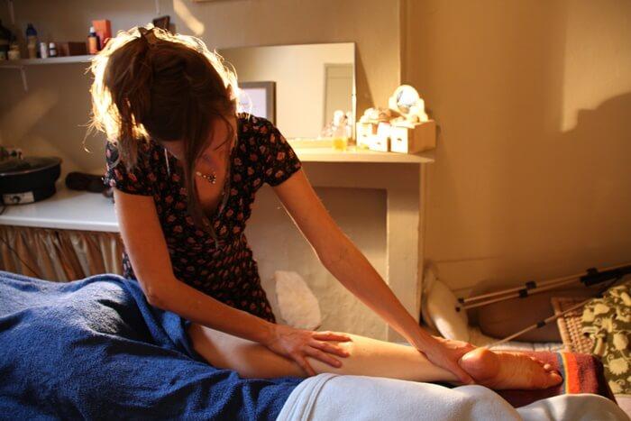 Masaje relajante beneficios
